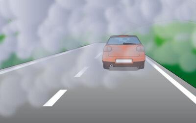 Cómo conducir si nos topamos con humo o niebla densa
