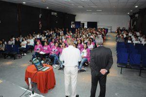 Botta Bernaus dando comienzo a la 6ta edición del Curso