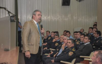 Capacitación para los efectivos de la Policía de Córdoba