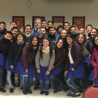 Nueva visita a instituciones educativas en Justiniano Posse